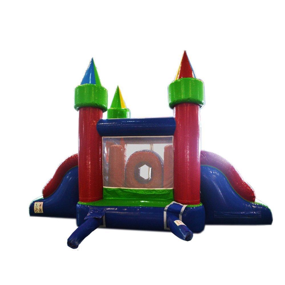 Castelo com escorregas